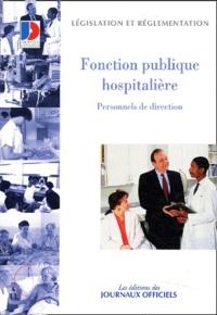 Fonction publique hospitalière - Personnels de direction.pdf