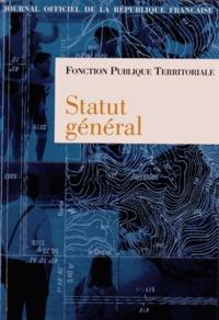 Fonction publique territoriale - Statut général.pdf