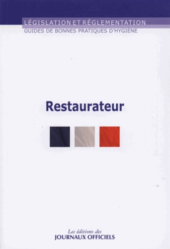 Guide Des Bonnes Pratiques D'hygiène En Restauration