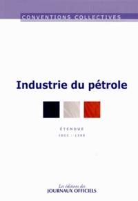 Journaux officiels - Industrie du pétrole - IDCC 1388.