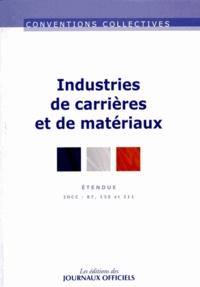 Industries de carrières et de matériaux - IDCC 87, 135 et 211.pdf