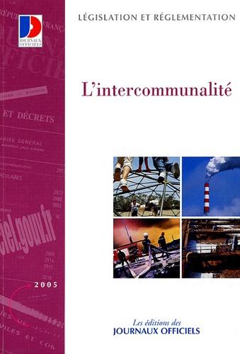 Journaux officiels - L'intercommunalité.