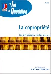 Journaux officiels - La copropriété.