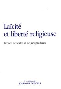 Deedr.fr Laïcité et liberté religieuse - Recueil de textes et de jurisprudence Image