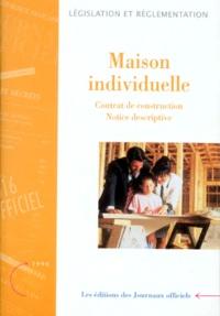 Corridashivernales.be MAISON INDIVIDUELLE, BATIMENT D'HABITATION. - Contrat de construction, Notice descriptive Image