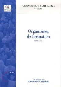 Journaux officiels - Organismes de formation.