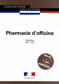 Pharmacie dofficine - Convention collective nationale étendue, IDCC 1996.pdf