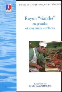 Journaux officiels - Rayon Viandes en grandes et moyennes surfaces.