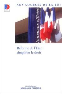 Galabria.be Réforme de l'Etat : simplifier le droit Image