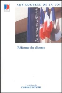 Journaux officiels - Réforme du divorce.