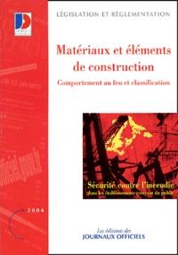 Sécurité contre lincendie - Comportement au feu et classifications des matériaux et éléments de construction.pdf