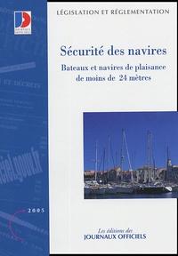 Sécurité des navires - Bateaux de plaisance de moins de 24 mètres.pdf