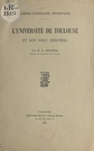 L'Université de Toulouse et son rôle régional