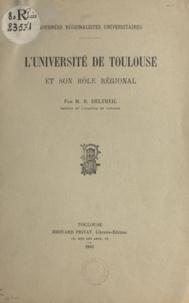Journées régionalistes univers et Robert Deltheil - L'Université de Toulouse et son rôle régional.