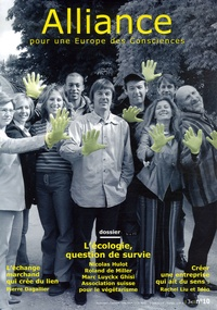 Nicolas Hulot et Roland de Miller - Alliance pour une Europe des Consciences N° 10, Septembre-Oct : .