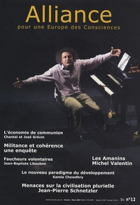 Alain Chevillat et Jean-Pierre Schnetzler - Alliance pour une Europe des Consciences N° 12, Février-mars : .