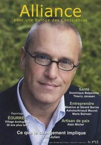Alain Chevillat - Alliance pour une Europe des Consciences N° 13, Avril/mai 200 : .