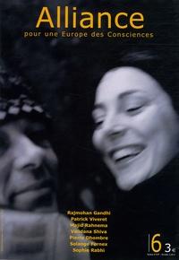 Vandana Shiva et Xavier Zimbardo - Alliance pour une Europe des Consciences N° 6, Octobre-Novemb : .