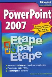 Joyce Cox et Joan Preppernau - PowerPoint 2007.