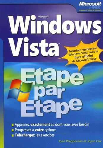 Joyce Cox et Joan Preppernau - Windows Vista.