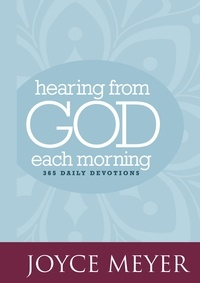 Joyce Meyer - Hearing from God Each Morning - 365 Daily Devotions.