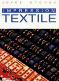 Joyce Storey - Impression textile.