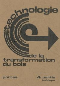 Deedr.fr Technologie de la transformation du bois - Tome 4 Image