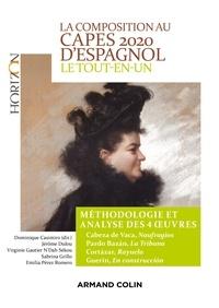 La composition au CAPES 2020 d'espagnol - Le tout-en-un - Méthodologie et analyse des 4 oeuvres.
