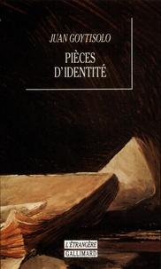 Juan Goytisolo - Pièces d'identité.