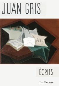 Juan Gris - Ecrits.