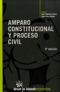 Juan Montero Aroca et José Flors Maties - Amparo constitucional y procesal civil. 1 Cédérom