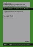 Juan pedro Monferrer sala et Ángel Urbán - Sacred Text - Explorations in Lexicography.