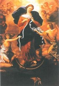 Juan-Ramón Celeiro - Marie qui défait les noeuds lot de 5.