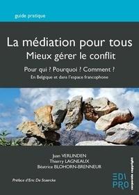 Galabria.be La médiation pour tous, mieux gérer le conflit - Pour qui ? Pourquoi ? Comment ? En Belgique et au-delà des frontières Image