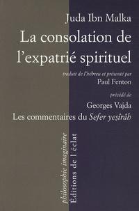 Accentsonline.fr La consolation de l'expatrié spirituel - Un commentaire sur le Livre de la Création précédé des recherches sur les commentaires du Sefer yesîrâh Image