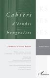 Judit Maar - Cahiers d'études hongroises Numéro spécial 2009 : L'Hommage à Victor Karady.