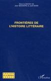 Judit Maar et Jean Bessière - Frontières de l'histoire littéraire.
