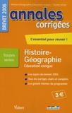 Judith Bertrand et Guillaume Dumont - Histoire-Géographie Education civique Brevet Toutes séries.