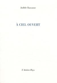 Judith Chavanne - A ciel ouvert.