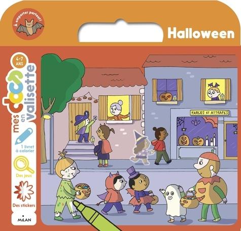 Judith Clément et  Ninie - Halloween - Avec 1 livret à colorier, des jeux, des stickers.