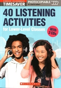 Accentsonline.fr 40 Listening Activities for Lower-Level Classes - Elementary - Pre-intermediate (A1-A2) Image