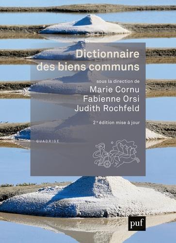 Dictionnaire des biens communs 2e édition actualisée