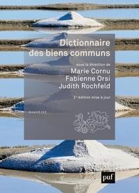 Judith Rochfeld et Marie Cornu - Dictionnaire des biens communs.