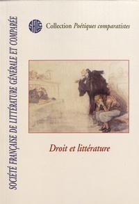 Judith Sarfati Lanter et Christine Baron - Droit et littérature.