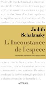 Judith Schalansky - L'Inconstance de l'espèce.