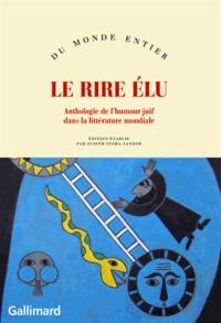 Histoiresdenlire.be Le rire élu - Anthologie de l'humour juif dans la littérature mondiale Image