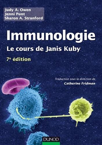 Judy Owen et Jenni Punt - Immunologie - 7e édition - Le cours de Janis Kuby avec questions de révision.