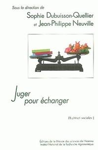 Sophie Dubuisson-Quellier - Juger pour échanger - La construction sociale de l'accord sur la qualité dans une économie des jugements individuels.