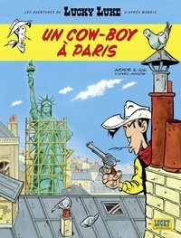 Jul et  Achdé - Les Aventures de Lucky Luke d'après Morris - tome 8 - Un cow-boy à Paris.