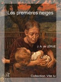 Jules-Adrien de Lérue - Les premières neiges.